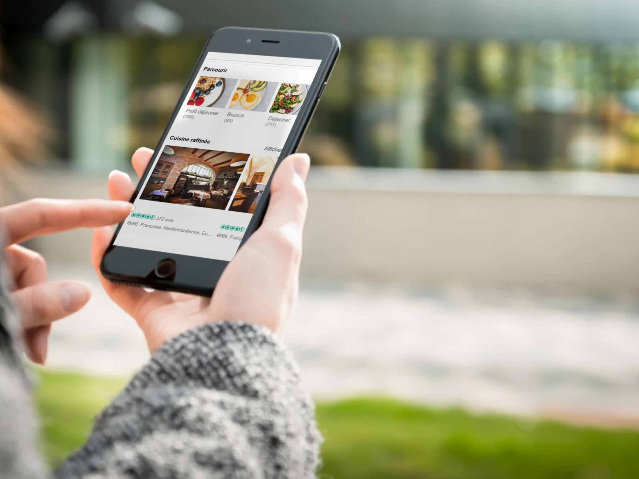 site internet restaurant responsive